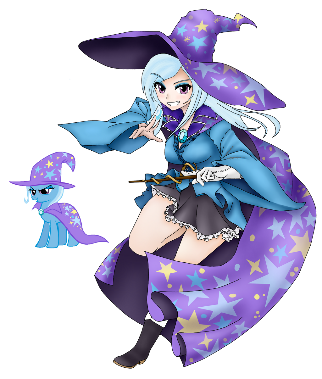 The Great And Powerfull Trixie by magico-enma