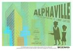 Film Poster 'Alphaville