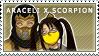 Araceli x Scorpion Stamp by TheRealAussieKitten