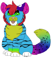 Tiger-eyes | Gift by TheRealAussieKitten