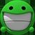 :biggrin3d: Biggrin 3D 50x50 derp by ALCHEMlST