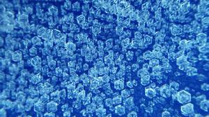 Ice Crystals 003 1366x768