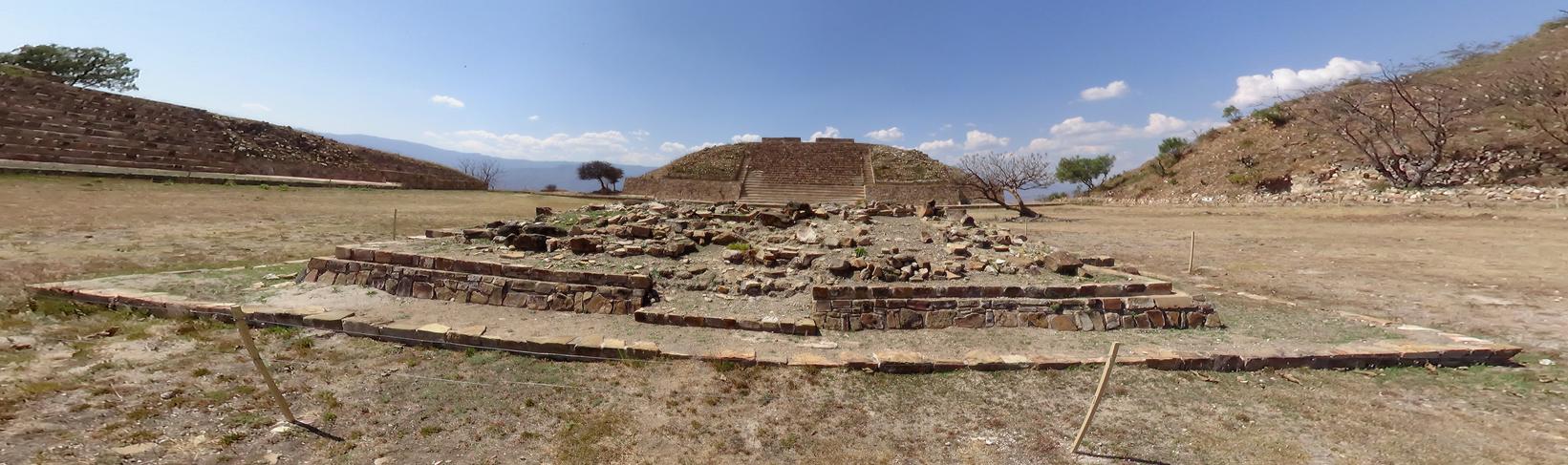 Oaxaca Mexico Pyramid Pano 1 by ALCHEMlST