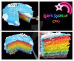+Rainbow Cake+
