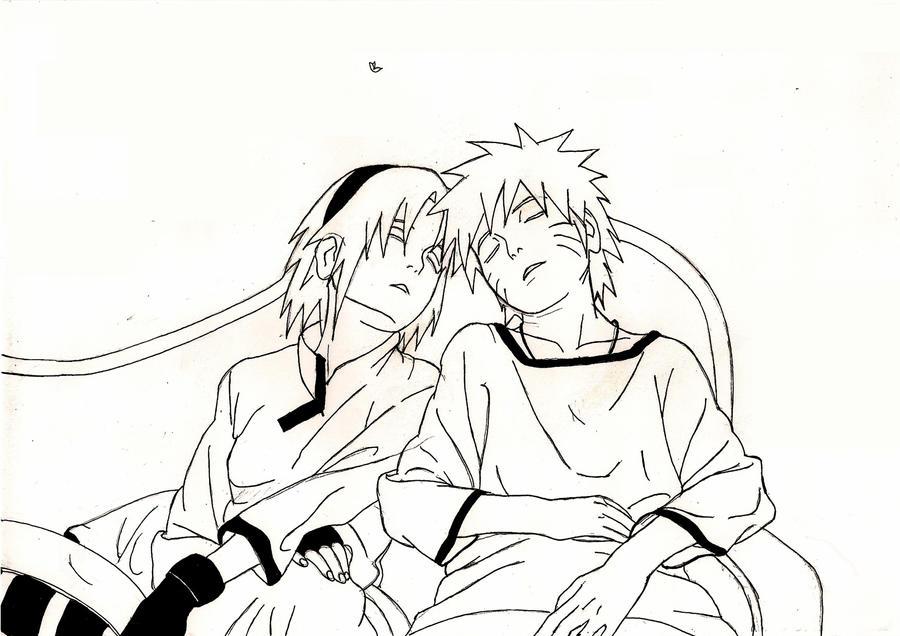 NaruSaku Sleeping Together By Yuuvia On DeviantART