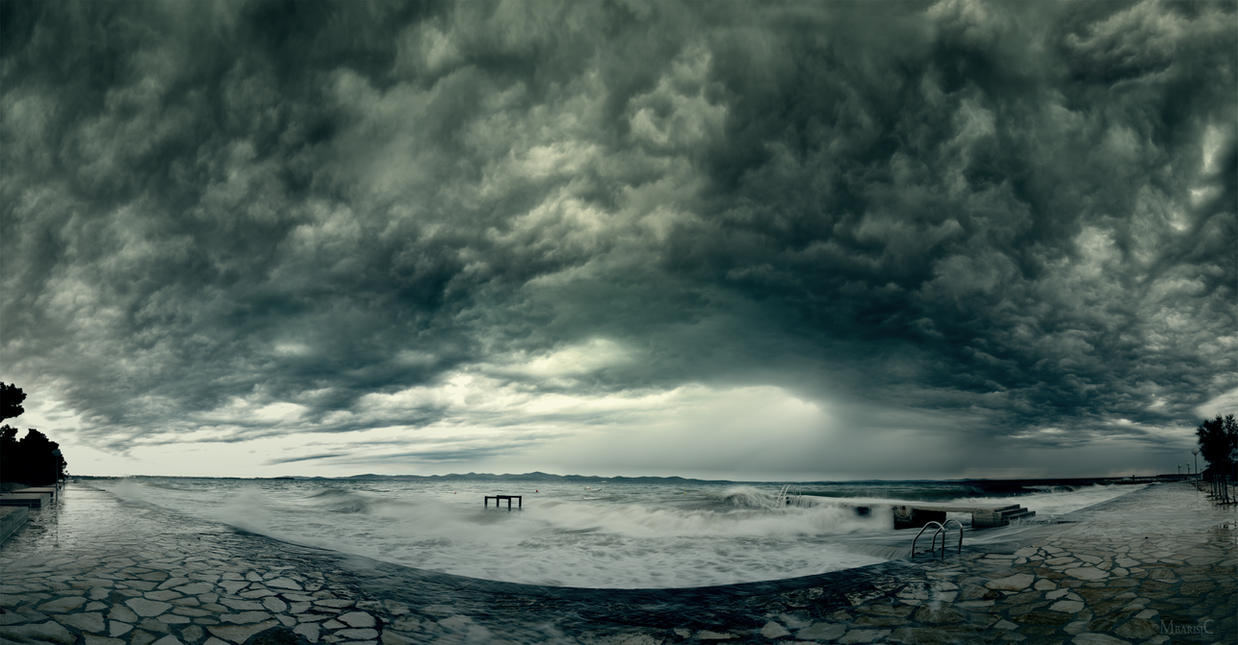 Nature's wrath by MatejBarisic