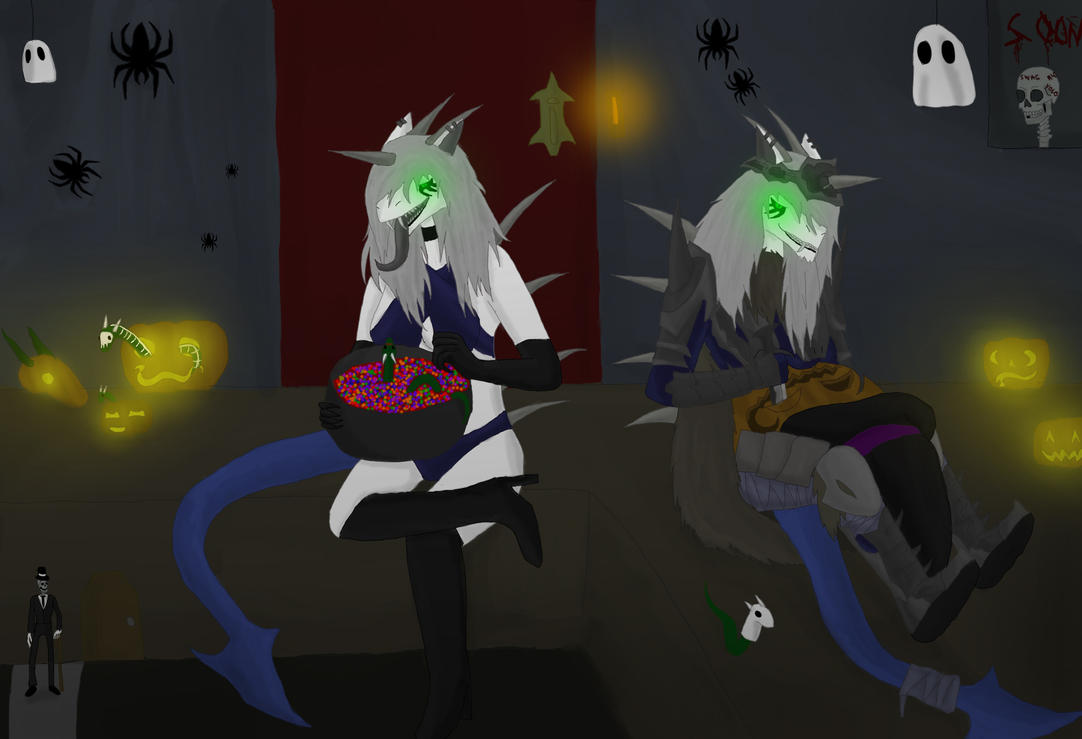 Maldesse halloween by ShizameWrath