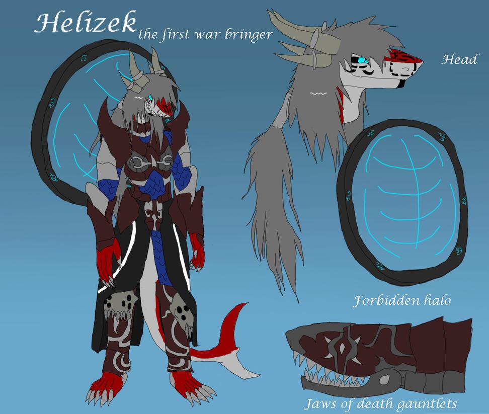 Helizek ref sheet by ShizameWrath