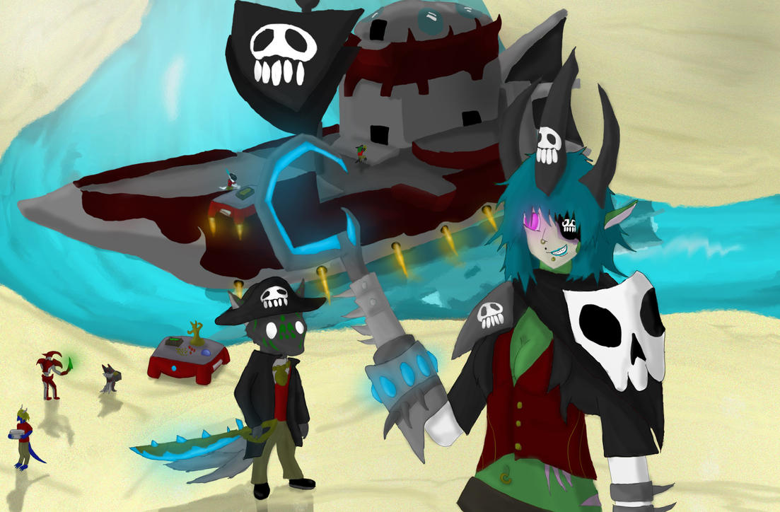 Captain Rayne by ShizameWrath