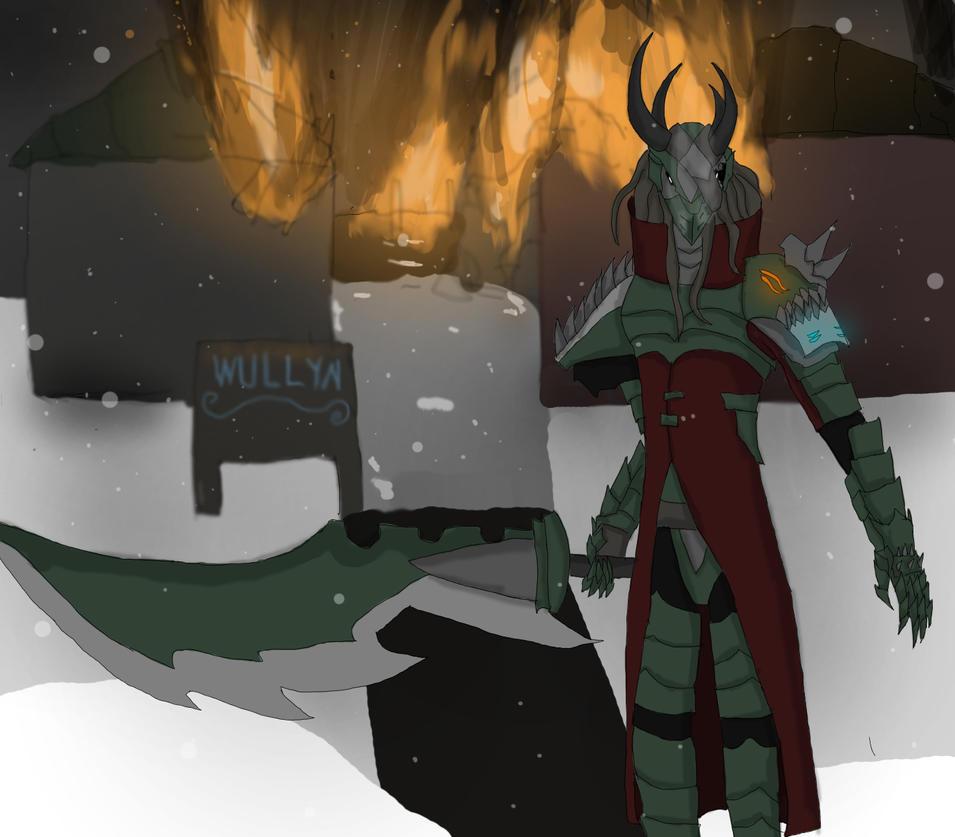 Fallen hero by ShizameWrath
