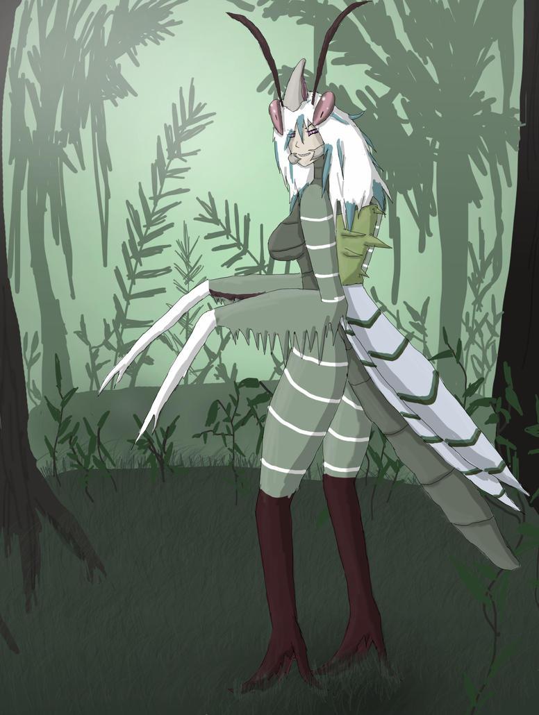 Mantis Lady by ShizameWrath