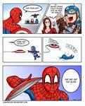 Spider man huehuehue