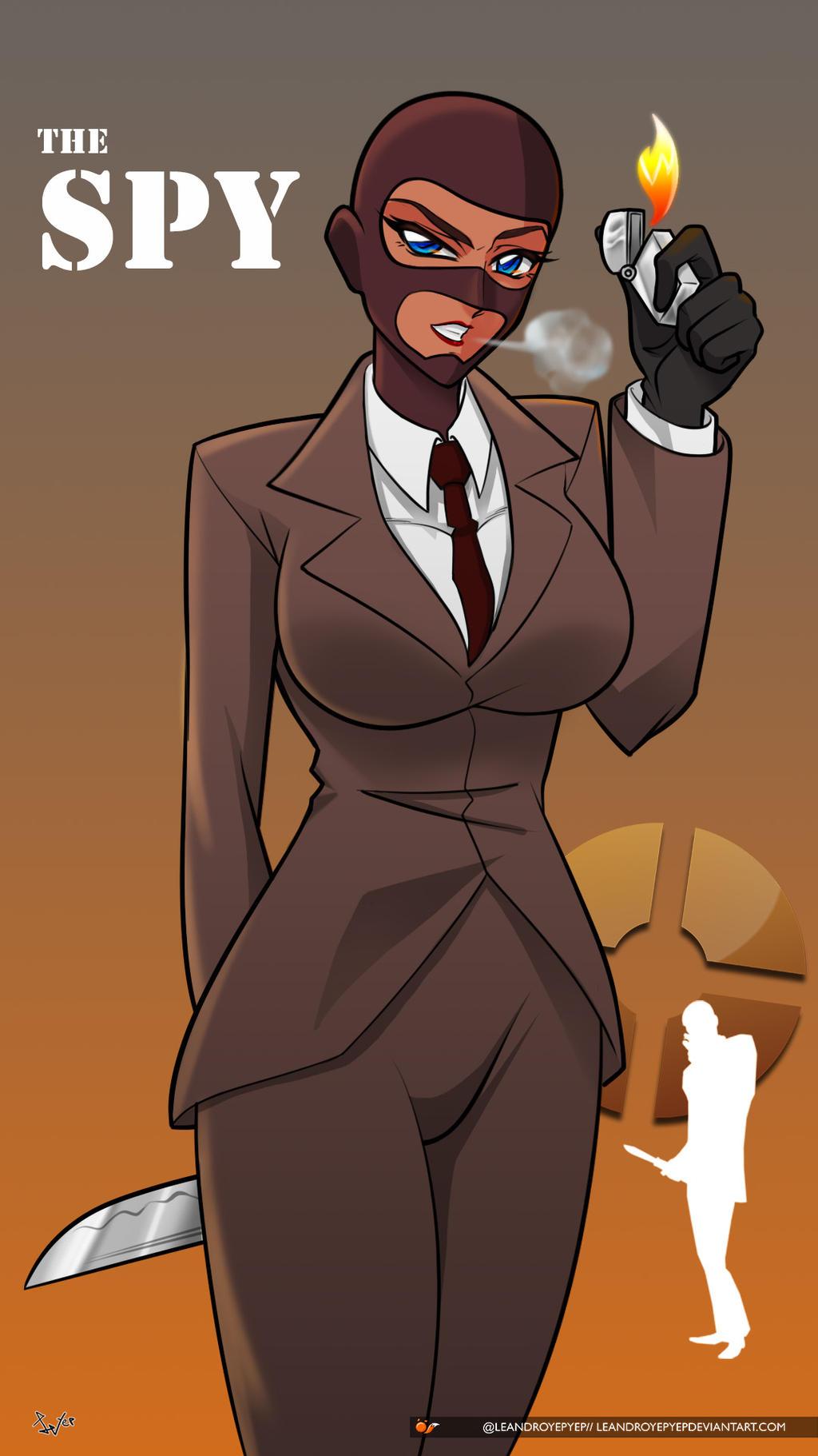 Spy Fan Art Team Fortress 2 05 By Leandroyepyep On Deviantart