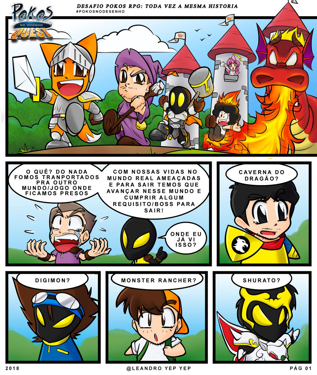 A Pokos Quest Pg01 By Leandroyepyep On Deviantart