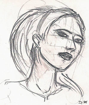 quick face drawing
