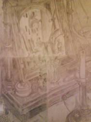 Still Life Drawing M.C. Escher