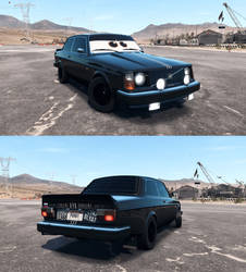 Rykov the Volvo 242DL by RedChallengerSRT8
