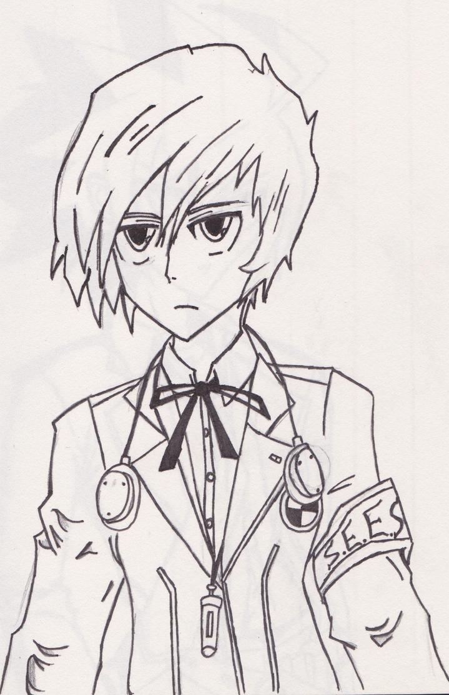 Makoto Yuki - Persona 3 (P3) by XenoGX18