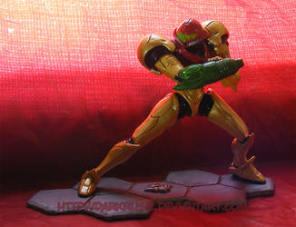 Samus figure '02' by The-Replicant