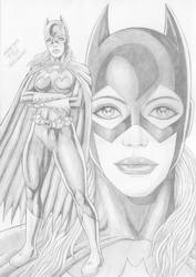 Batgirl by TIAGO-FERNANDES