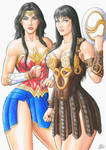 WONDER WOMAN and XENA