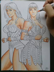 Wonder Woman and Xena :) .