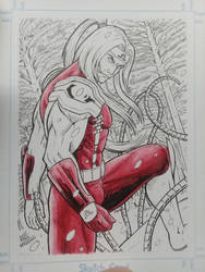 Commission Card Omega Red