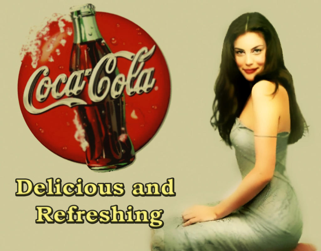 Molto Liv Tyler Coca-Cola Pin-up by Humerlok on DeviantArt HV24
