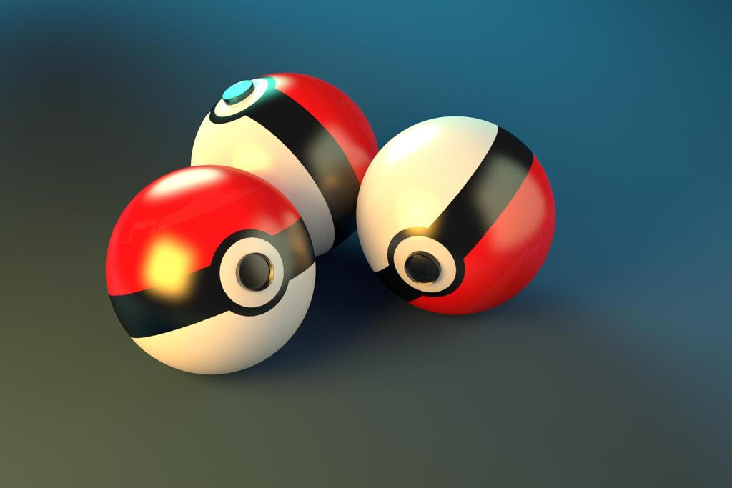 Pokeballs by Humerlok