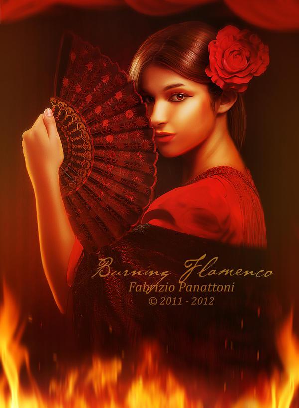 Burning Flamenco by FP-Digital-Art