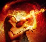 Girl on Fire by FP-Digital-Art
