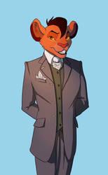 Dakarai In A Suit