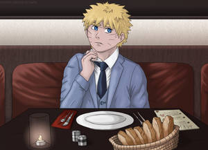 Naruto Dressed for a Date