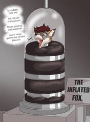 The Inflated Foxy by BlackStarWolf100