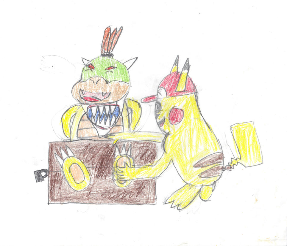 how to draw bowser jr