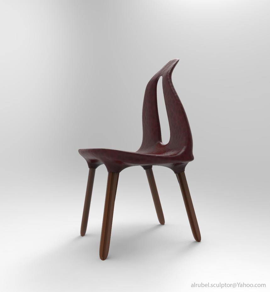 Chair design, Al Rubel (1) by Alrubel