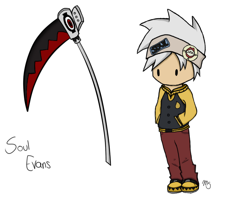 Chibi Soul Evans- Soul Eater by Tawiie on DeviantArt