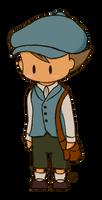 Proffesor Layton- Chibi Luke