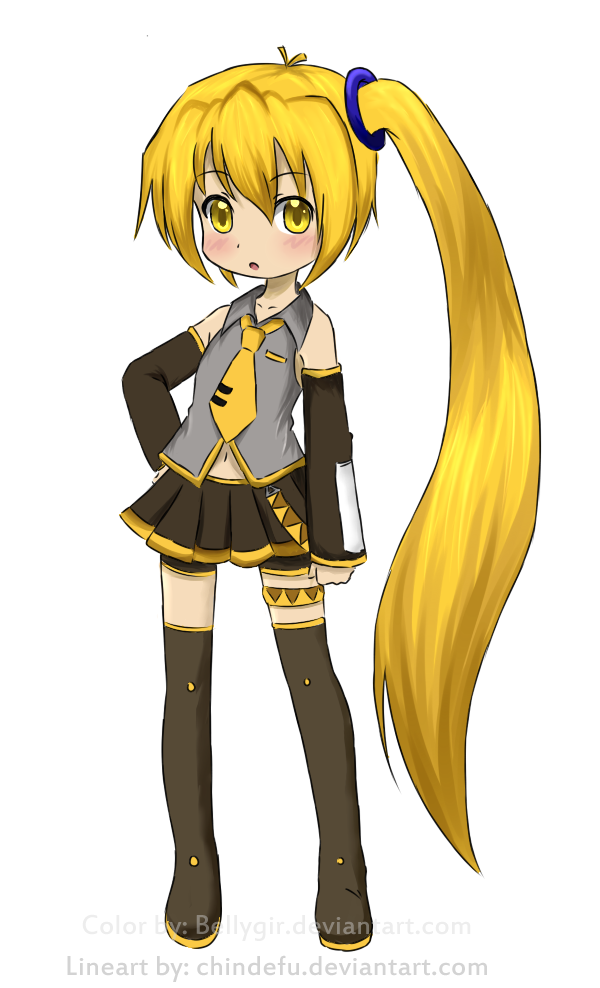 chibi neru akita by chindefu by tawiie on deviantart