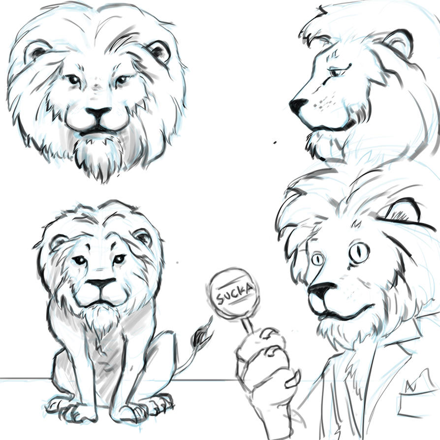 Lion by cluis