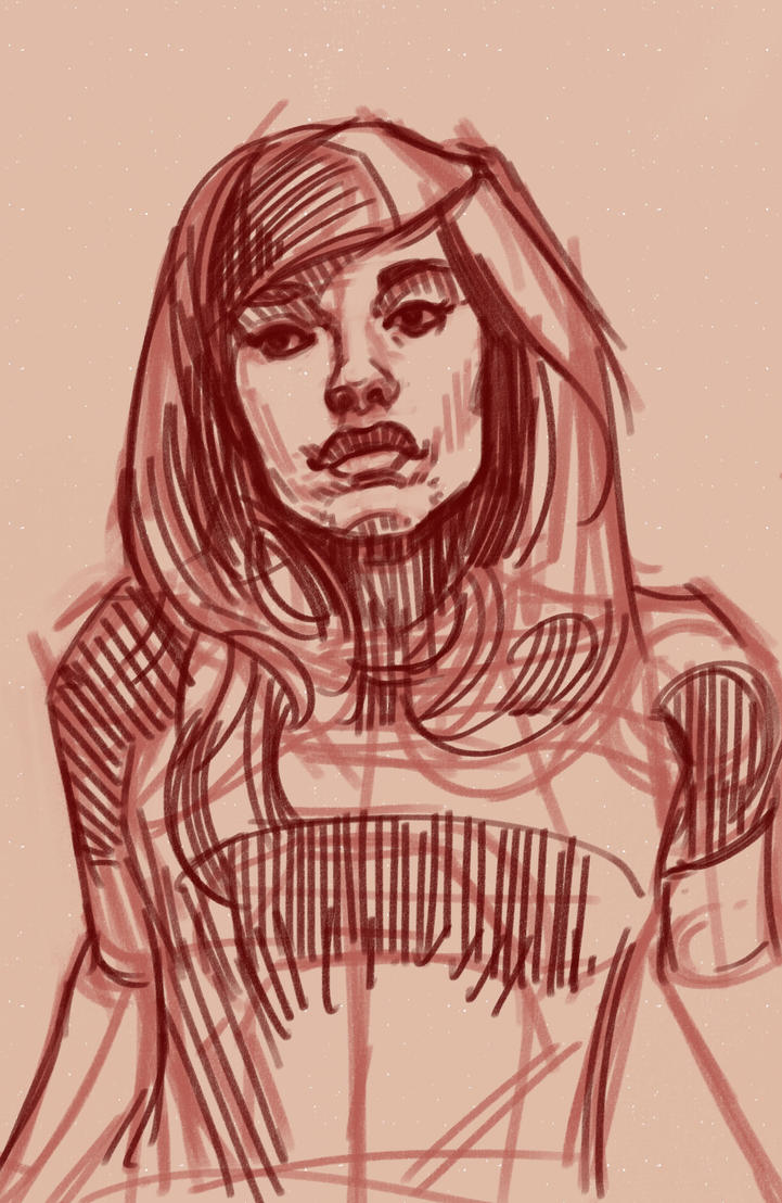 Redgwen WIP #1 by cluis