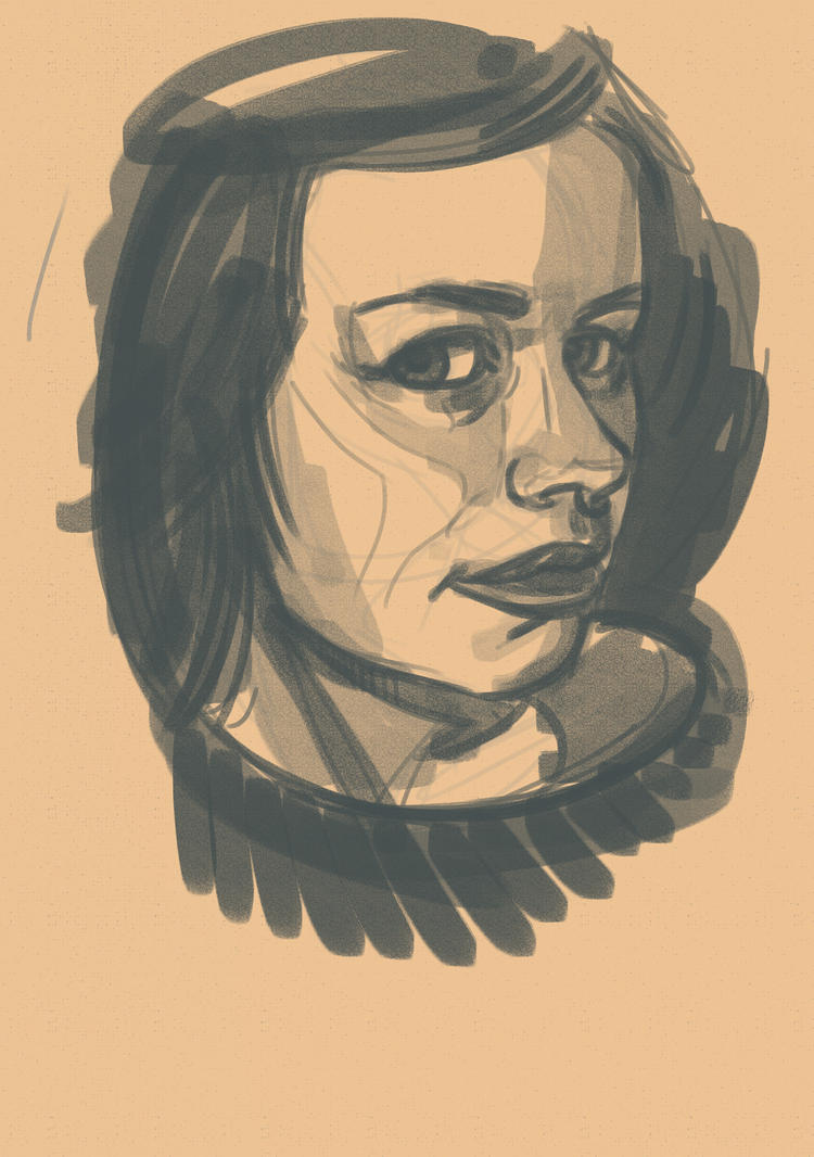 Quicky Sketch RGD by cluis
