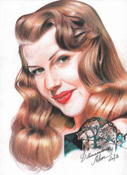 Rita Hayworth by dilhermandodidi