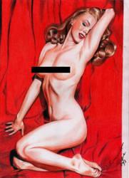 Marilyn Monroe censored by dilhermandodidi