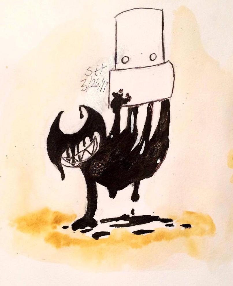 Bendy ink spill by PrincessScissors