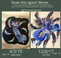 Draw this again (meme): Seer Of Void by PrincessScissors