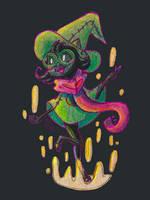 Fluffy Son: DeltaRune Ralsei by PrincessScissors