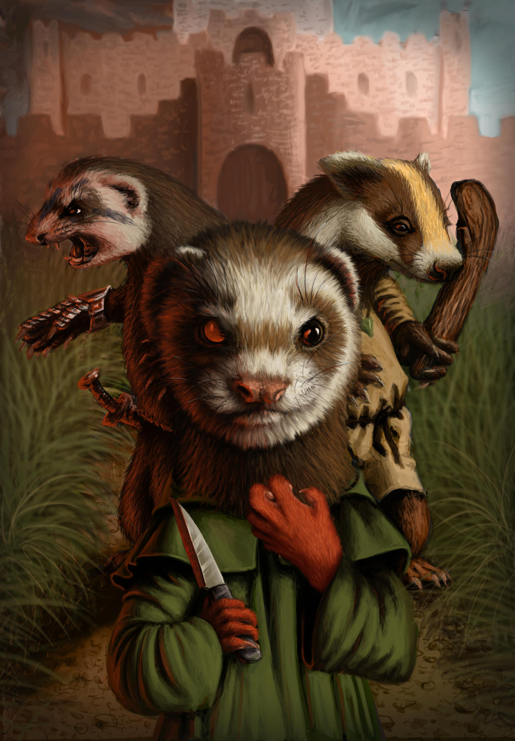 Outcast of Redwall by nimirofox on DeviantArt