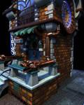 Magic Shop Detail Render