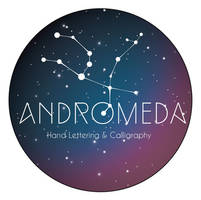 Andromeda Hand Lettering and Caligraphy by toromuco